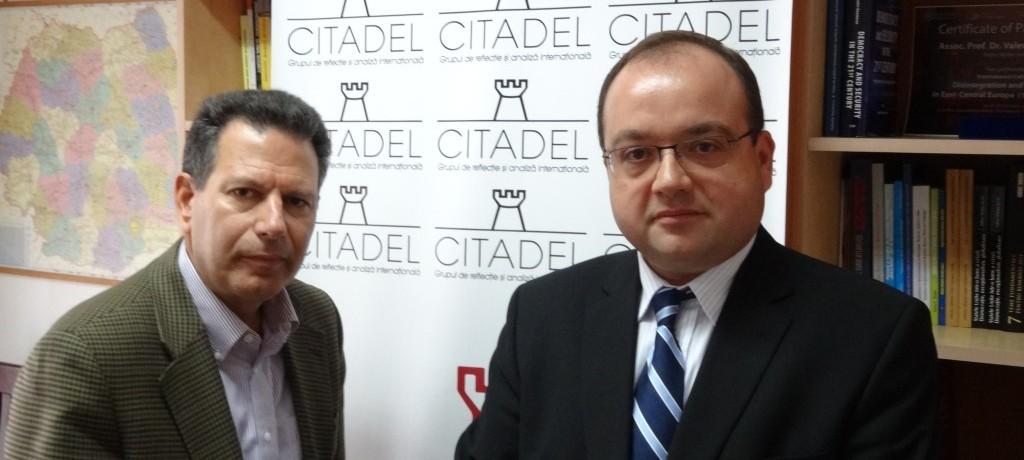 Robert Kaplan's visit at CITADEL