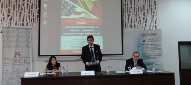 Politica SUA dupa alegerile din 4 noiembrie si Prioritatile parteneriatului Romania-SUA in 2015 – 7 noiembrie 2014