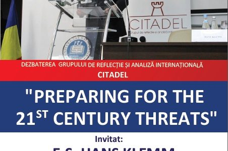 Preparing for the 21St century threats