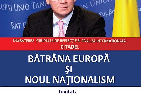 Bătrâna Europă şi noul naţionalism