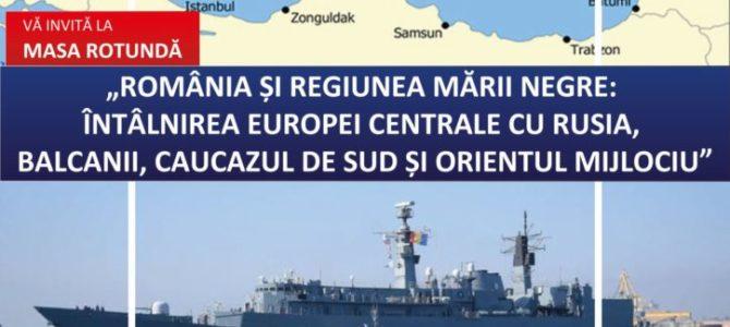 România și regiunea Mării Negre: Întâlnirea Europei Centrale cu Rusia, Balcanii, Caucazul de Sud și Orientul Mijlociu